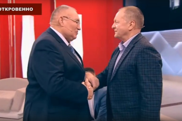 Георгий Черкасов был рад познакомиться с Борисом Галкиным