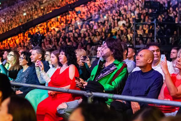 Среди зрителей было немало звездных гостей