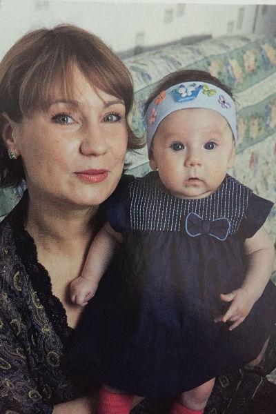 Ольга Тумайкина с дочерью Марусей
