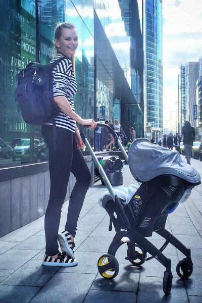 Елена Кулецкая после беременности