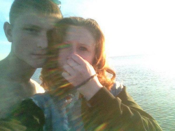 Олег Шушунов с женой Анастасией