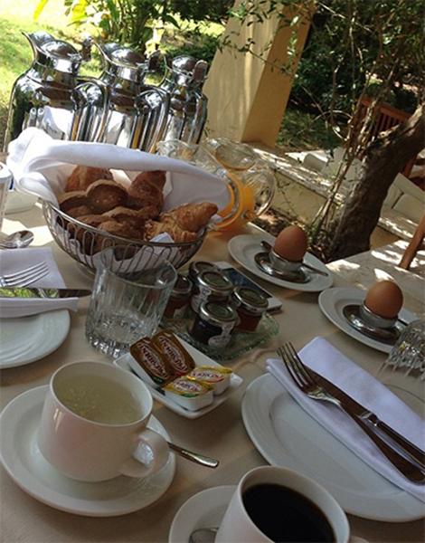«Поздний завтрак», - сообщила подписчикам телеведущая