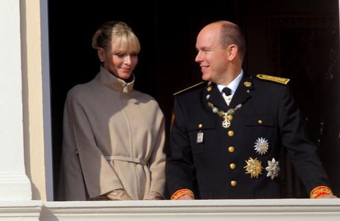 Княгиня Шарлен и князь Албер II