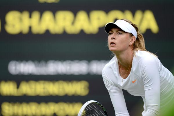 1 место. Теннисистка Мария Шарапова