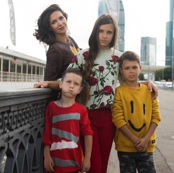 Екатерина с детьми