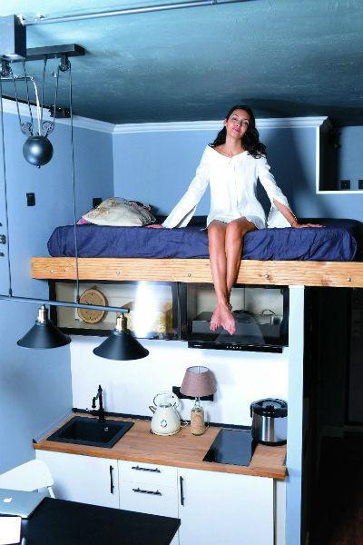 Софья сама продумывала дизайн квартиры