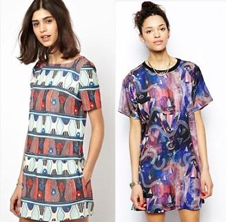 Платья слева направо: Paul&Joe, Textile federation