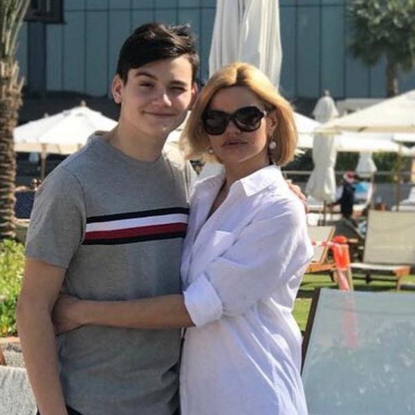Ирина с сыном Александром от первого брака