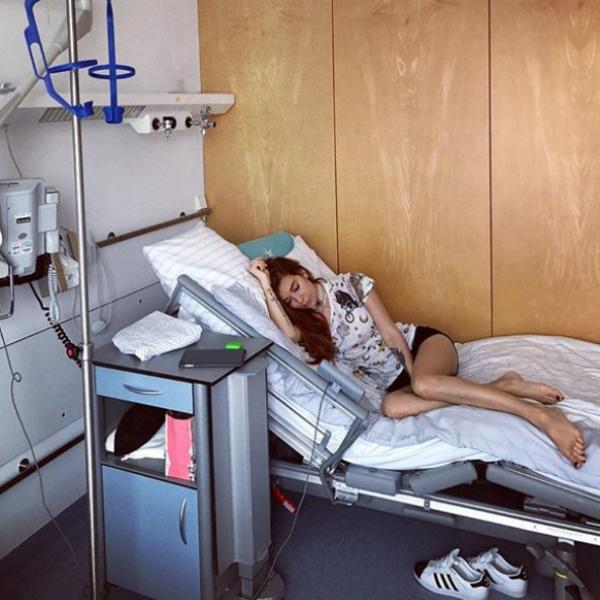 Теперь она надеется бывать в клиниках намного реже