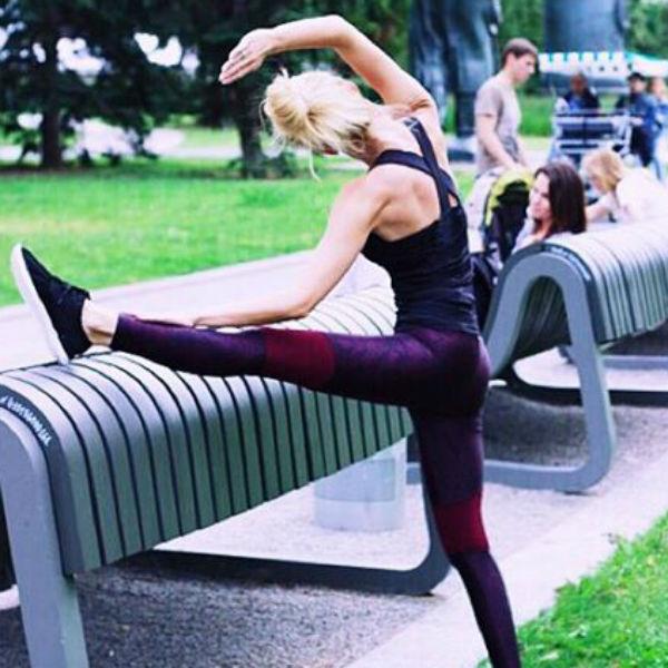 Саша ведет активный образ жизни