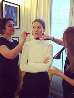 Ксения готовится к Неделе высокой моды в Париже