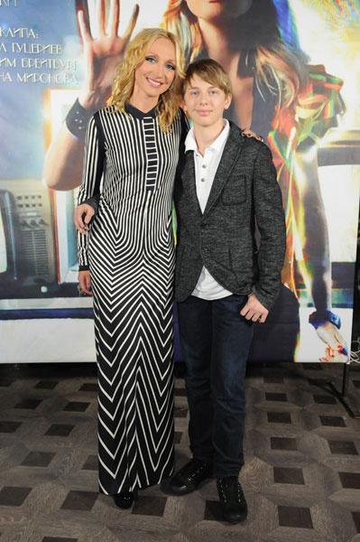Кристина Орбакайте с с сыном Дени