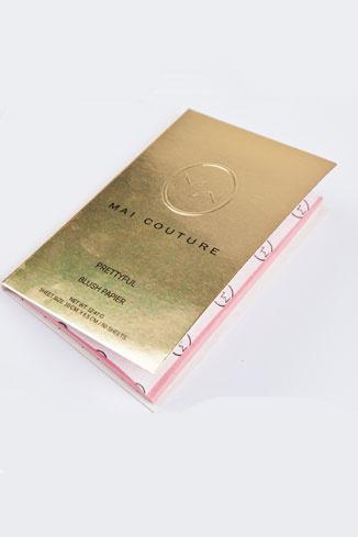 Тонирующие листочки-румяна от Mai Couture, 700 руб.