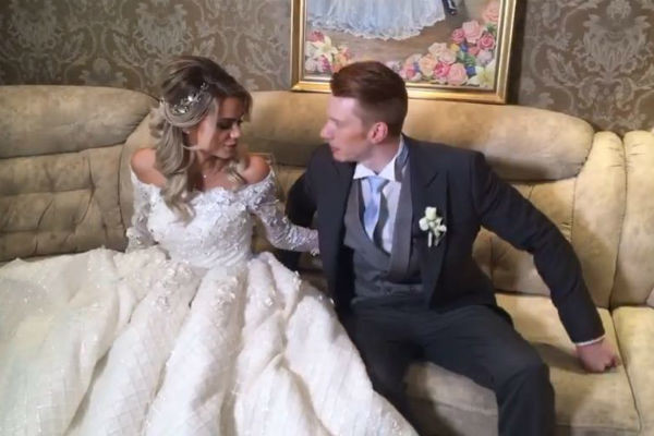 Никита и Алена хотели, чтобы их свадьба была оригинальной