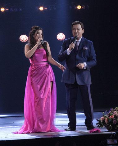 Жасмин представила в Кремле новую концертную программу