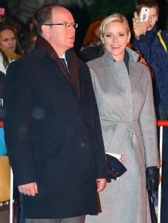 Князь Монако Альбер II и его супруга Шарлен