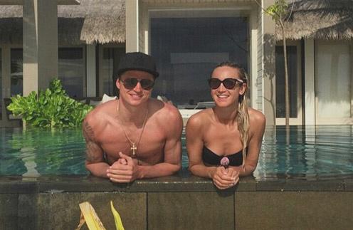 Ольга Бузова и Дмитрий Тарасов отдыхают на Мальдивах