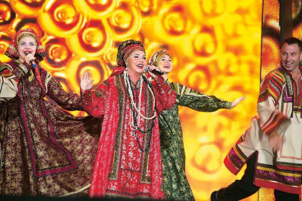 «Русская песня» - коллектив Надежды Бабкиной, который узнают везде
