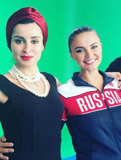 Тина Канделаки и Алина Кабаева