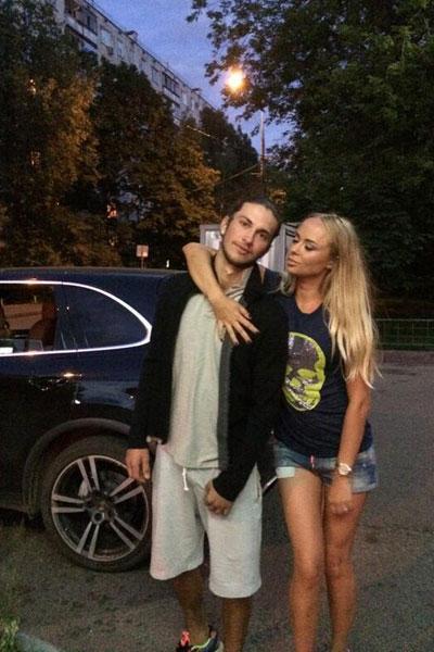 Вероника Шунина с новым мужчиной