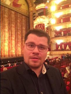 Гарик Харламов в партере Большого театра
