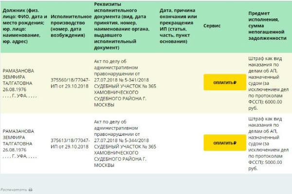 Приставы взыщут сЗемфиры 11 тыс. руб. занеправильную парковку