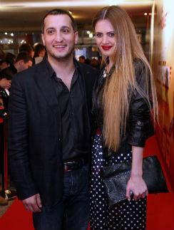 Арарат Кещян с женой Катей