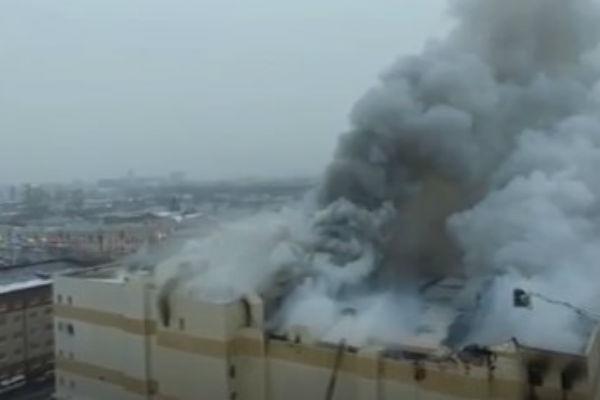 Пожар в ТЦ «Зимняя вишня»