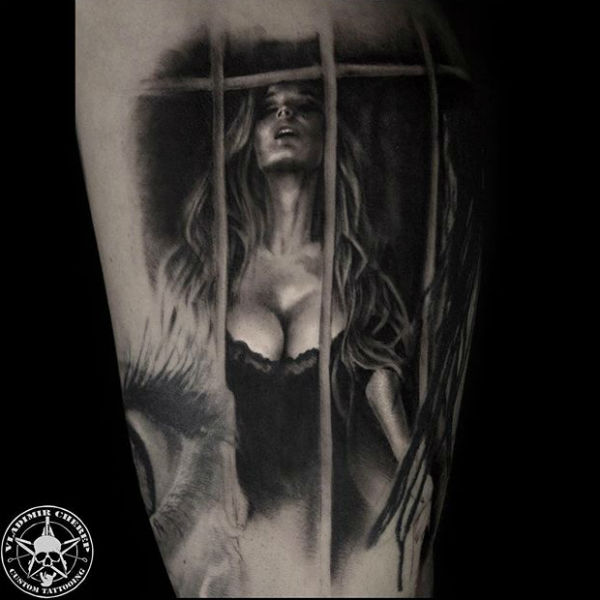 Татуировка была сделана с фотографии звезды