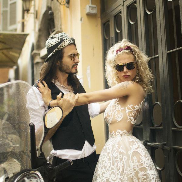Ольга приняла участие в фотосессии с мужем-итальянцем