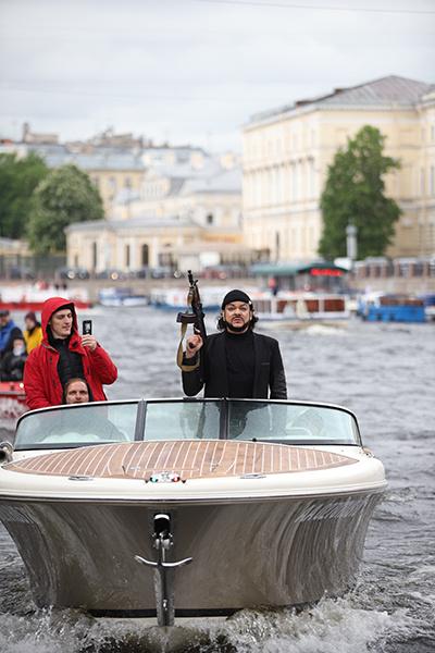 Cъемки проходили в Санкт-Петербурге