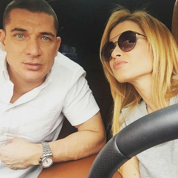 Курбан Омаров и Ксения Бородина в июле 2015 года