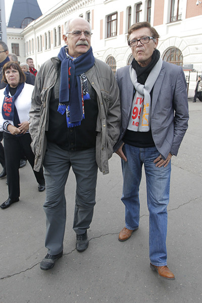 Никита Михалков и Борис Токарев