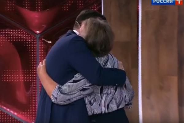 Александр встретился с мамой