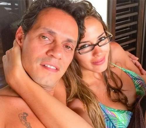 Марк Энтони с женой Шеннон де Лимой