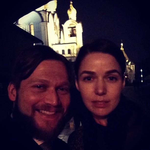 Петр Аксенов и Алена Ахмадулина