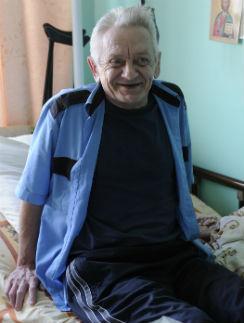 Василий попал в дом престарелых поселка Гремячее Тульской области в 2011 год1