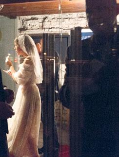 Ксения на свадьбе с Максимом Виторганом