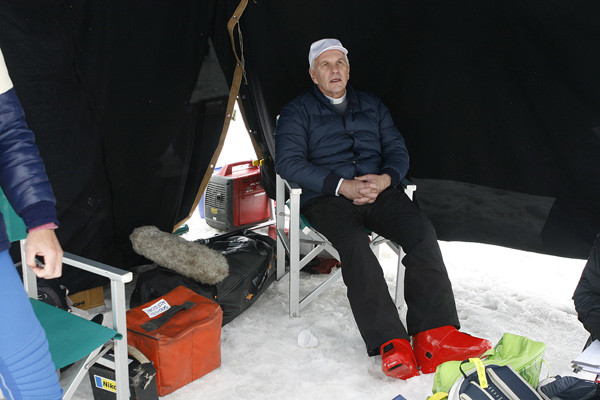 Алексей ГУськов на съемках