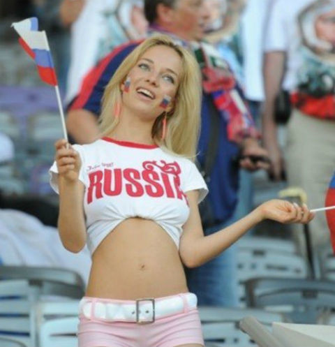 Natalia andreeva the russian of the soccer world cup - 5 3
