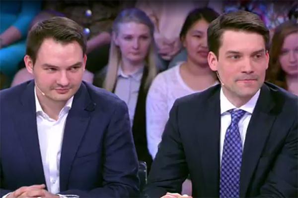 Сыновья Елены Малышевой Василий и Юрий