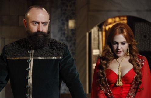 Султан и его жена Хюррем
