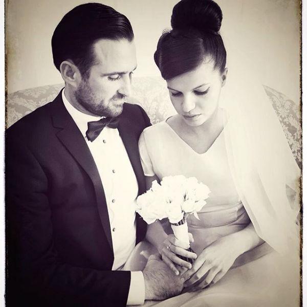 Влюбленные сыграли свадьбу в середине сентября