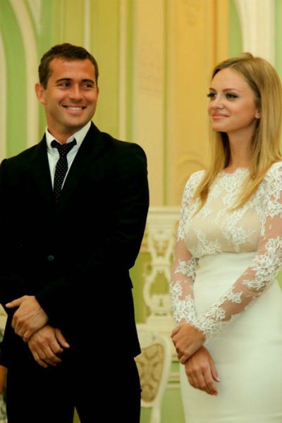 Свадьбы Александра и Миланы состоялась 27 июня 2015