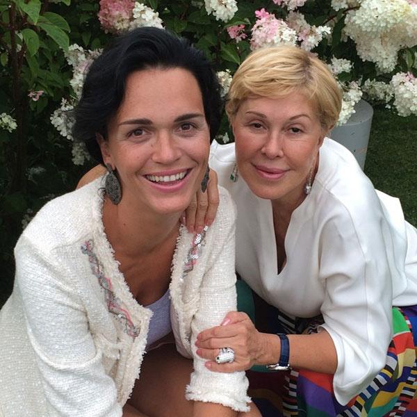 Любовь Успенская и Слава на отдыхе в Австрии
