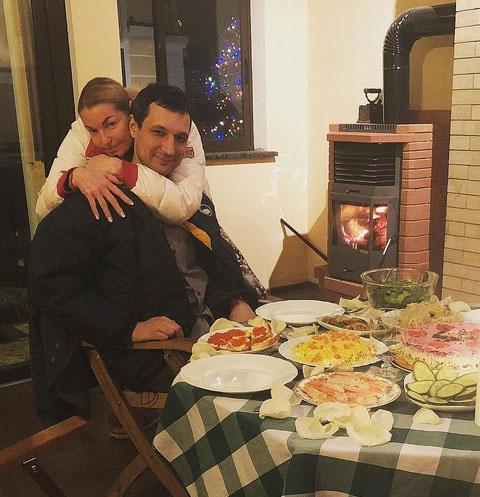 Анастасия Волочкова с другом Михаилом