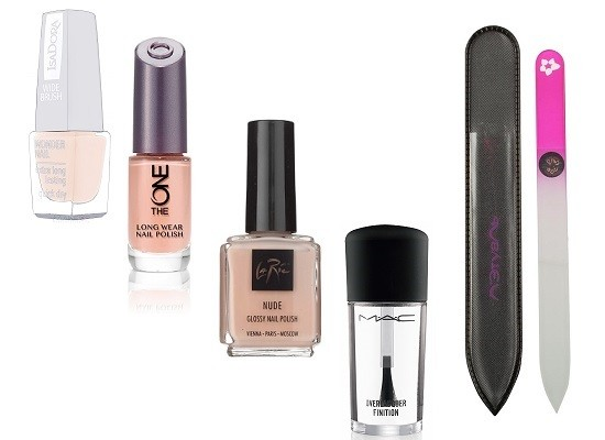Лак для ногтей Wonder Nail, 601 Creamy Nude Isadora, Лак для ногтей Long Wear Nail Polish, Oriflame The One, Лак для ногтей Glossy Nail Polish, Nude La Ric, Верхнее покрытие Overlacquer Finition, MAC