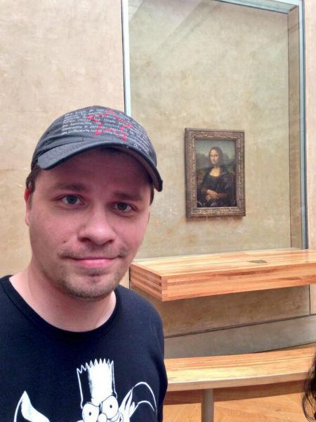 Знаменитая «Мона Лиза», она же «Джоконда»