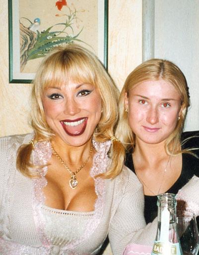 Маша Распутина с дочкой Лидой