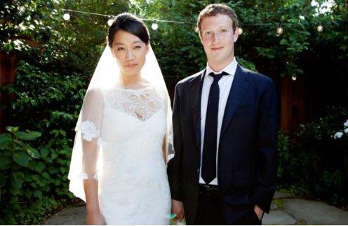 Марк и Присцила. Свадебное фото